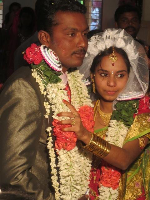 Unsere Indische Projektleiterin Priyanga Heiratet